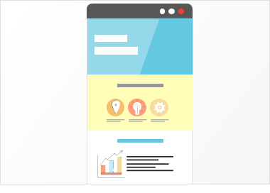プロモーションサイトは、サービスや製品の認知向上やお問合せなどの行動を促すサイトになります